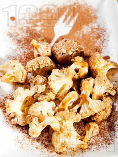 Десерт от карфиол с какао и кокосова сметана - снимка на рецептата